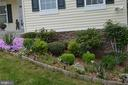 Flower beds in front and rear of property - 9416 EVERETTE CT, SPOTSYLVANIA