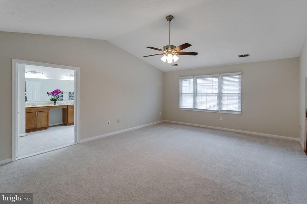 Cozy master bedroom with library/sitting - 6536 NOVAK WOODS CT, BURKE