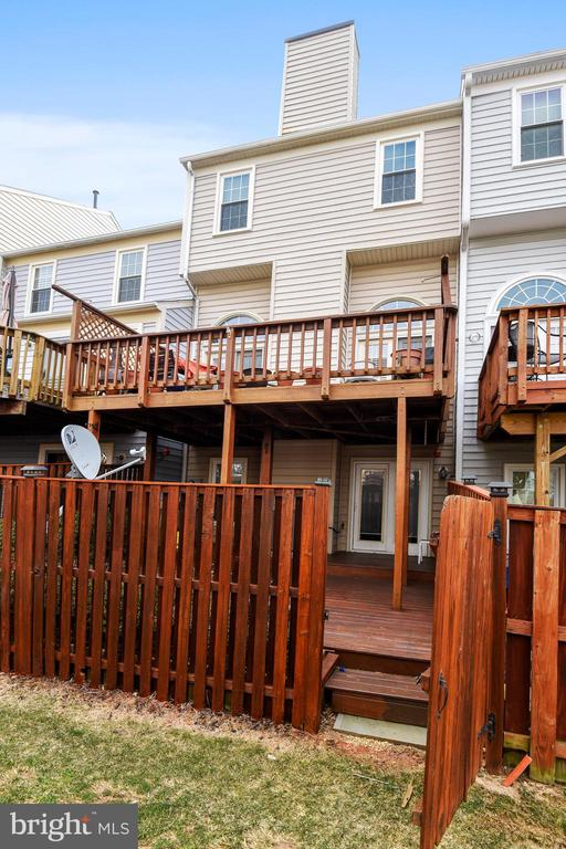 Lower and upper Deck - 7005 CHESLEY SEARCH WAY, ALEXANDRIA