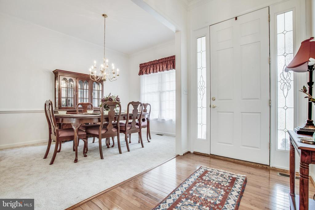 Formal Dining Room - 11303 MANSFIELD CLUB DR, FREDERICKSBURG