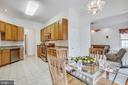 Eat-In Kitchen - 11303 MANSFIELD CLUB DR, FREDERICKSBURG