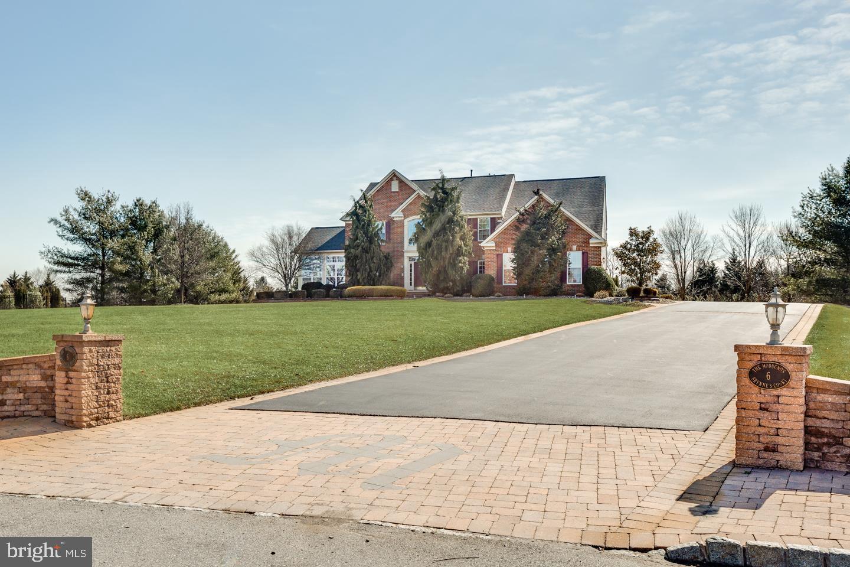 Enfamiljshus för Försäljning vid 6 BRYNNES Court Lumberton, New Jersey 08048 Förenta staterna
