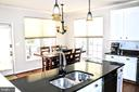 Kitchen Open to Dining - 42713 CENTER ST, CHANTILLY