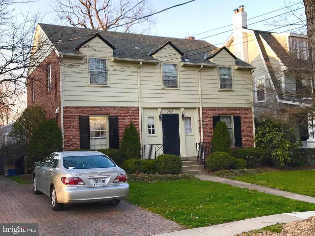 Current house to be replaced - 3709 THORNAPPLE ST, CHEVY CHASE