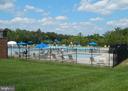 Community pool - 5507 SILVER MAPLE LN, FREDERICKSBURG