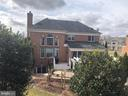 Back view of the house - 4204 ROLLING PADDOCK DR, UPPER MARLBORO