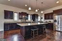 Kitchen with large Island - 1006 HUNTERS KNL, MYERSVILLE