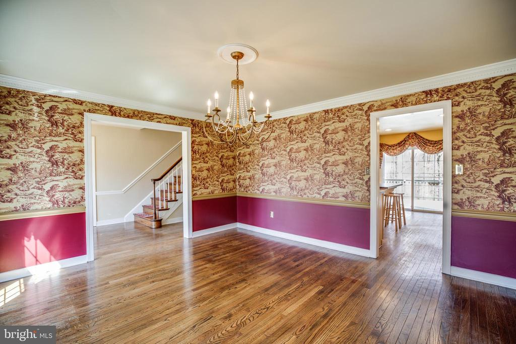Formal Dining Room - 609 LANCASTER ST, FREDERICKSBURG
