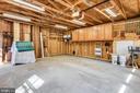 Garage - Inside - 223 W MONTGOMERY AVE, ROCKVILLE