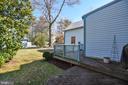 Side Yard - 223 W MONTGOMERY AVE, ROCKVILLE