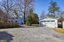 Detached Garage and Parking Area - 223 W MONTGOMERY AVE, ROCKVILLE