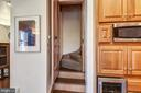 Second Staircase From Kitchen to Upstairs - 223 W MONTGOMERY AVE, ROCKVILLE