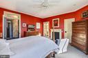 Master Bedroom (Bedroom 1) with Walk In Closet - 223 W MONTGOMERY AVE, ROCKVILLE