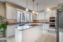 Granite, SS appliances and white cabinets - 11261 CENTER HARBOR RD, RESTON