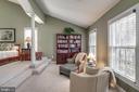 Sitting area in Master Suite - 11261 CENTER HARBOR RD, RESTON