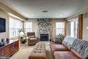 With gas stone fireplace - 11261 CENTER HARBOR RD, RESTON