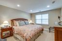 Guest Room on Lower Level with full windows - 11261 CENTER HARBOR RD, RESTON