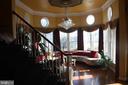 Custom hand painted formal living room - 43122 ROCKY RIDGE CT, LEESBURG