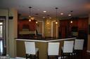 Breakfast bar off Kitchen - 43122 ROCKY RIDGE CT, LEESBURG