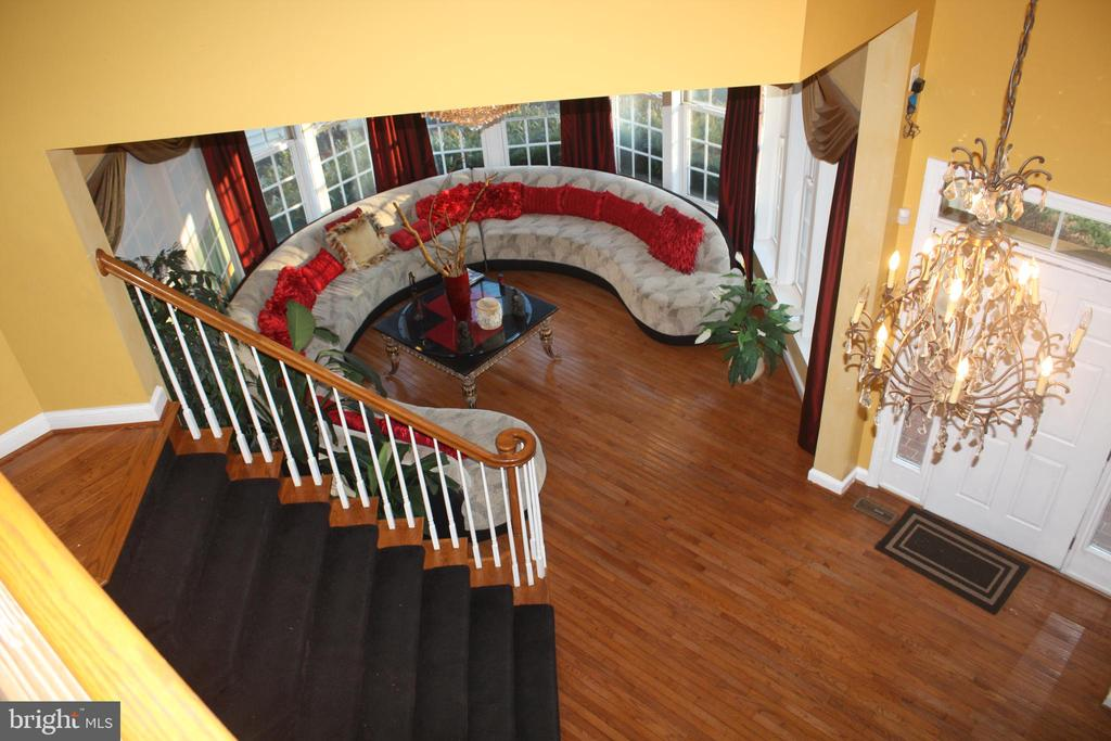 Entrance with Formal Living Room - 43122 ROCKY RIDGE CT, LEESBURG