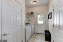 Guest house laundry room - 6910 SCENIC POINTE PL, MANASSAS