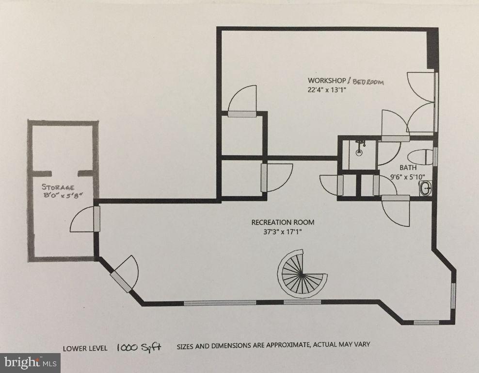 Lower level Guest house - 6910 SCENIC POINTE PL, MANASSAS