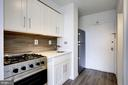 Brand new kitchen - 5500 FRIENDSHIP BLVD #1607N, CHEVY CHASE