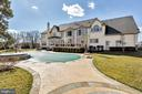 Exterior Rear View With Pool View - 41244 GRENATA PRESERVE PL, LEESBURG
