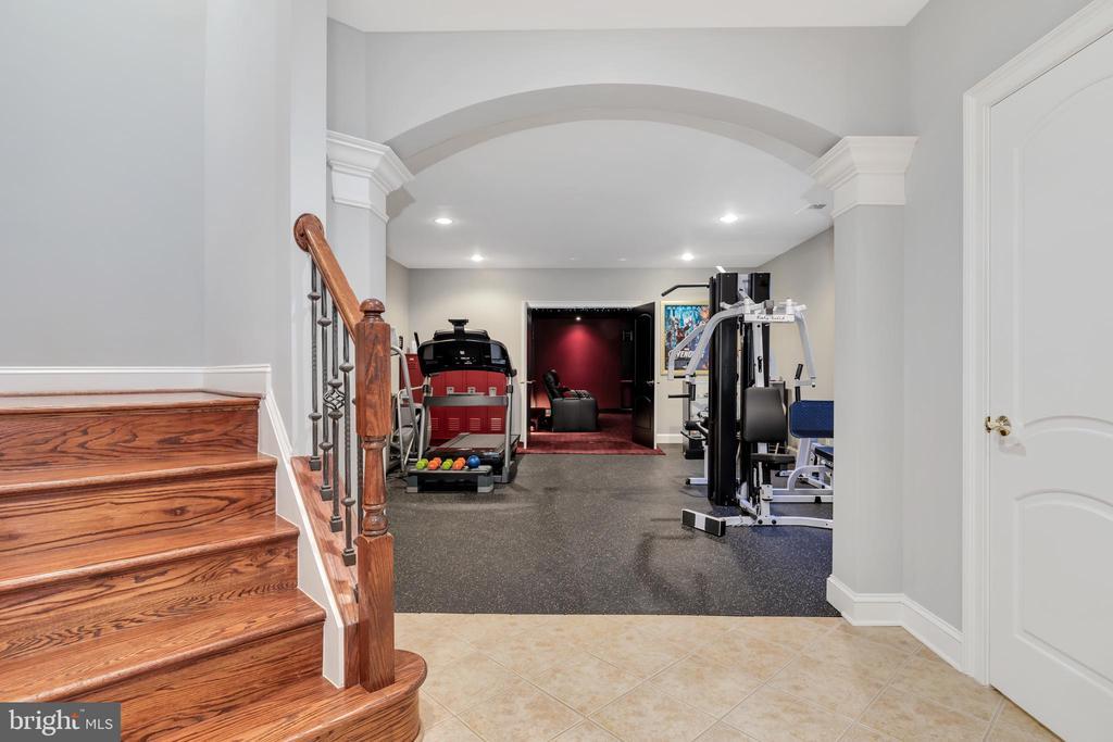 View of Exercise Room - Lower Level - 41244 GRENATA PRESERVE PL, LEESBURG