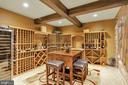 Wine Cellar with  Exposed Beams - Lower Level - 41244 GRENATA PRESERVE PL, LEESBURG