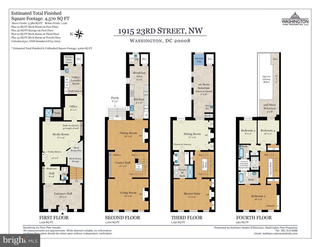 Floorplans - 1915 23RD ST NW, WASHINGTON