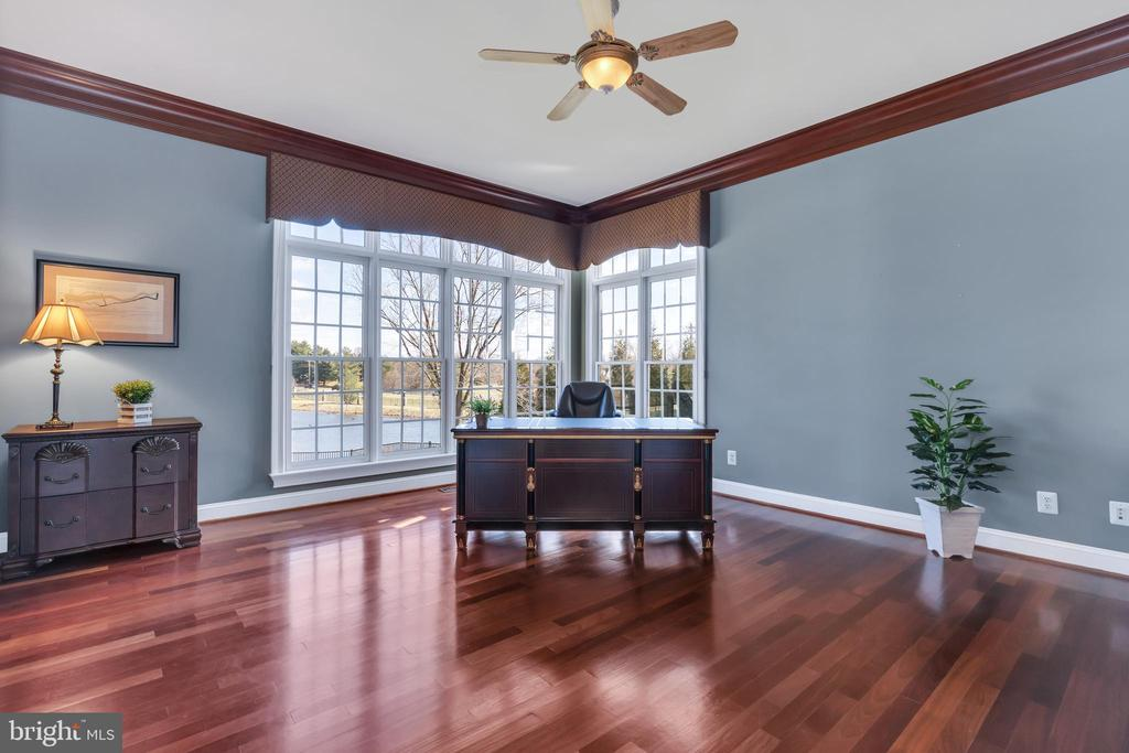 Main Level Office/Study With Water View - 41244 GRENATA PRESERVE PL, LEESBURG