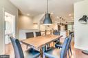 Open Concept Dining Room, Kitchen & Living Room - 9251 WOOD VIOLET CT, FAIRFAX