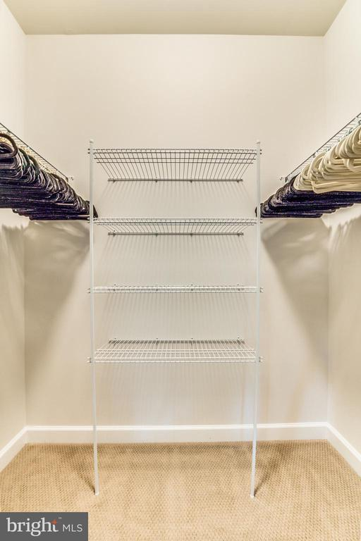HIS or HER Private Walk In Closet in Master BR - 9251 WOOD VIOLET CT, FAIRFAX
