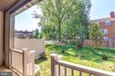 Lovely peaceful view from back covered Patio - 9251 WOOD VIOLET CT, FAIRFAX