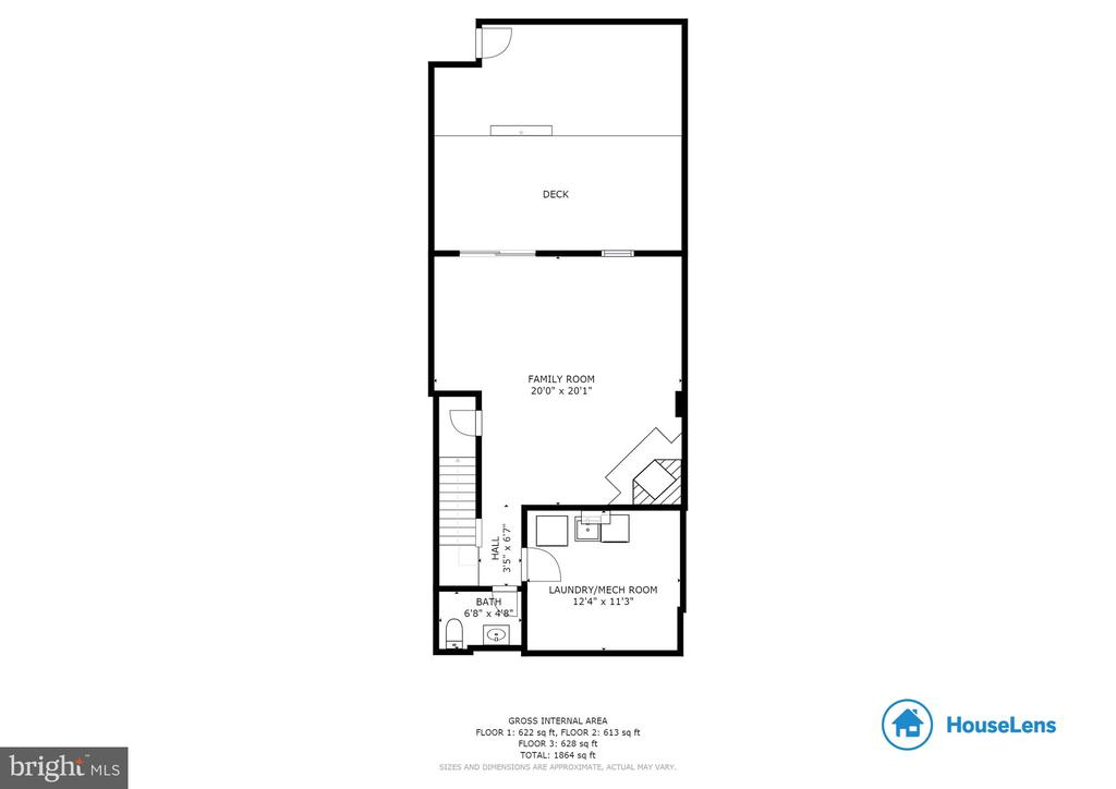 Ground Level For Plan - 5506 LA CROSS CT, FAIRFAX