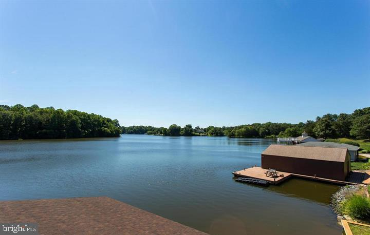VIEW FROM BOATHOUSE - 6505 MATTHEW LN, MINERAL