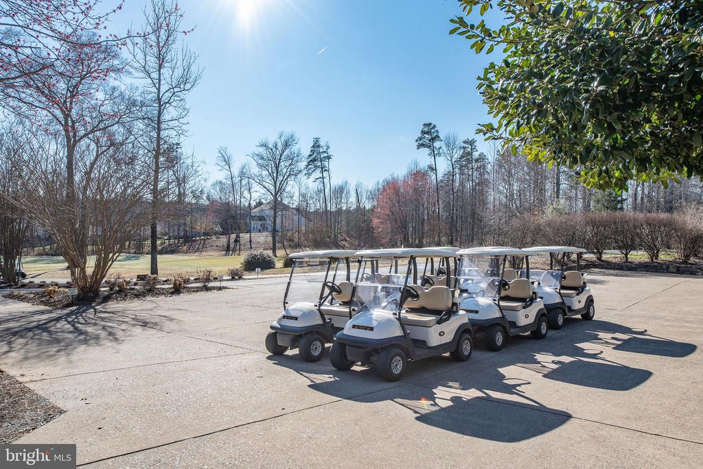 The golf cart awaits your arrival! - 3 GRISTMILL DR, STAFFORD