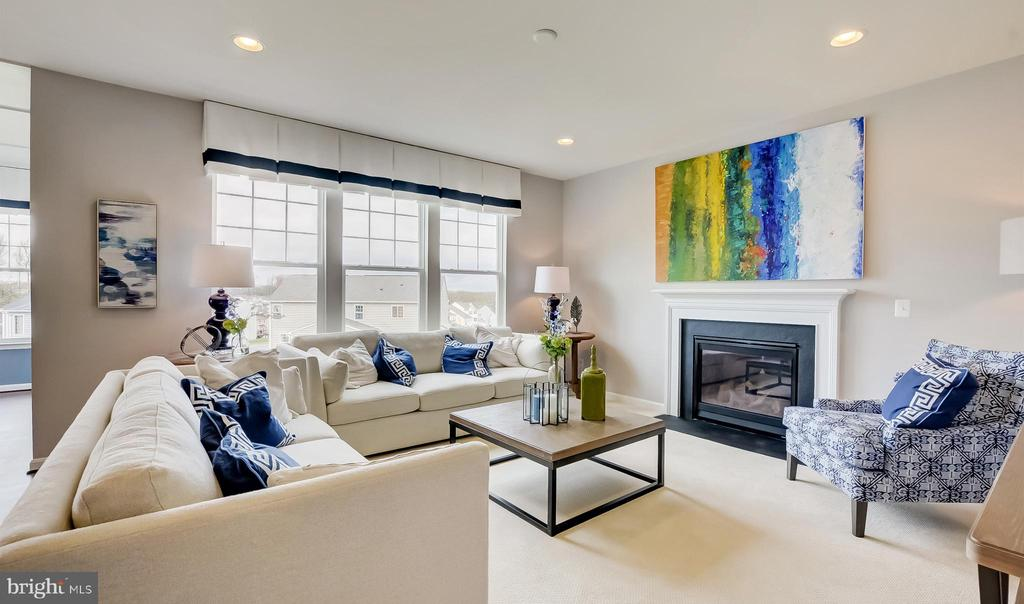 SAMPLE PHOTO -Family Room w/ opt. fireplace - 02 SHANDOR RD, WOODBRIDGE