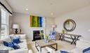 SAMPLE PHOTO - Family Room w/ optional fireplace - 02 SHANDOR RD, WOODBRIDGE