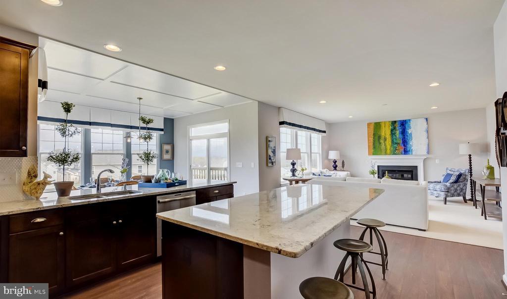 SAMPLE PHOTO -Kitchen, Fam. Rm. & opt. morning rm - 02 SHANDOR RD, WOODBRIDGE