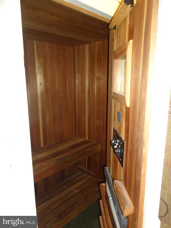 Sauna - 3608 SOUTH PL #5, ALEXANDRIA