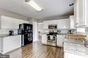 Beautiful Grey Granite and White Cabinetry - 12944 CREWS CT, BRISTOW