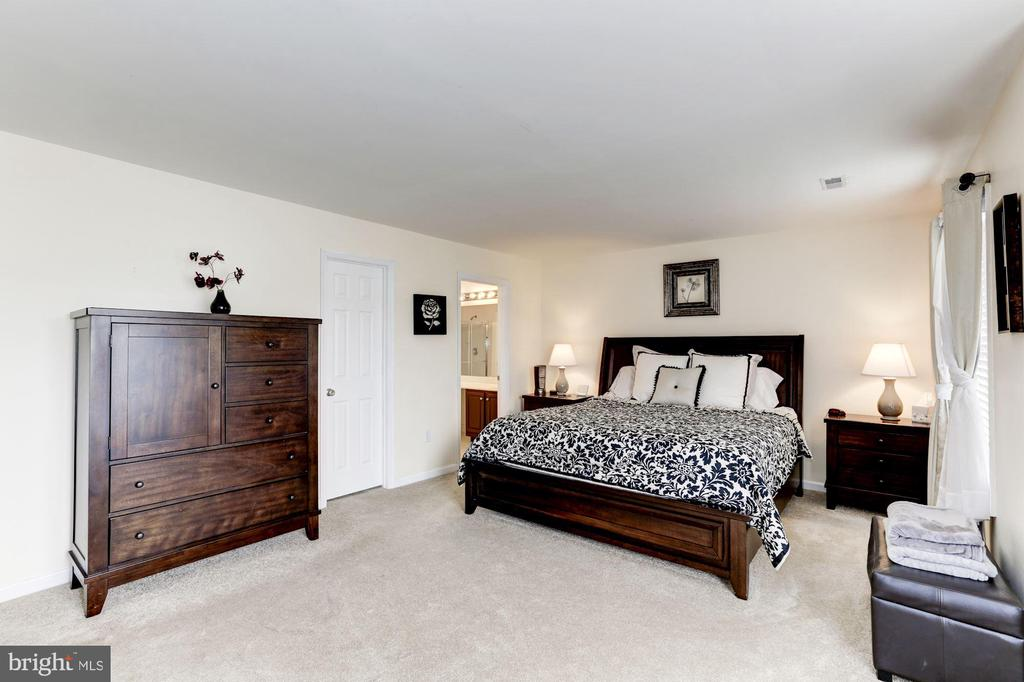 Airy Bright Master Bedroom - 12944 CREWS CT, BRISTOW