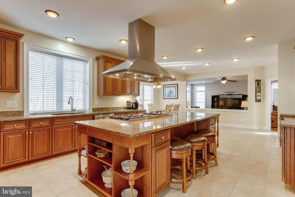 Truly, a chef's kitchen - 8938 RHODODENDRON CIRCLE CIR, LORTON