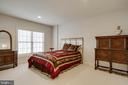 LL fifth bedroom on lower level with ensuite - 8938 RHODODENDRON CIRCLE CIR, LORTON