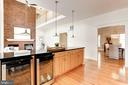 Island with lighting an loads of counter space - 8201 SPRING HILL LN, MCLEAN