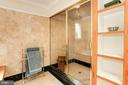 A steam shower  to start the day - 8201 SPRING HILL LN, MCLEAN