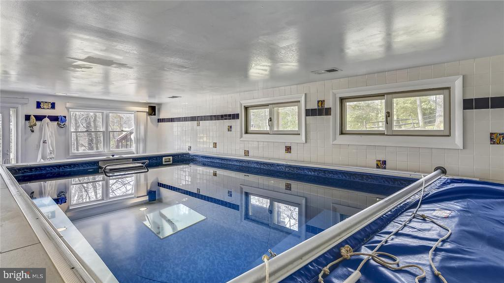 Indoor heated endless pool comes with instructions - 8312 CHARTWELL CT, ANNANDALE