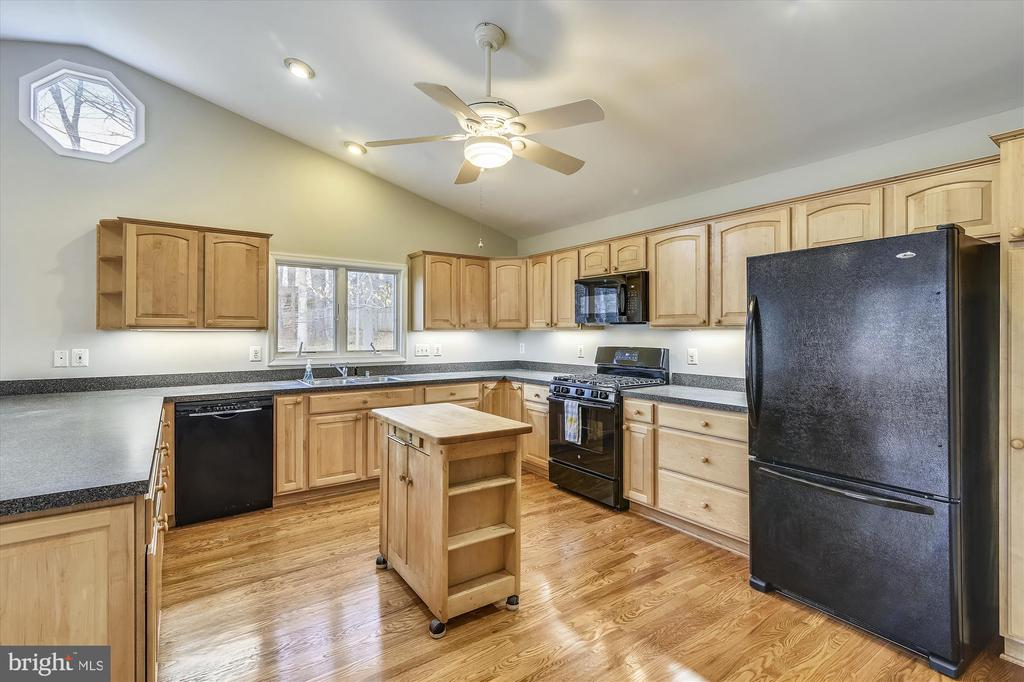 Expansive kitchen with new appliances - 8312 CHARTWELL CT, ANNANDALE